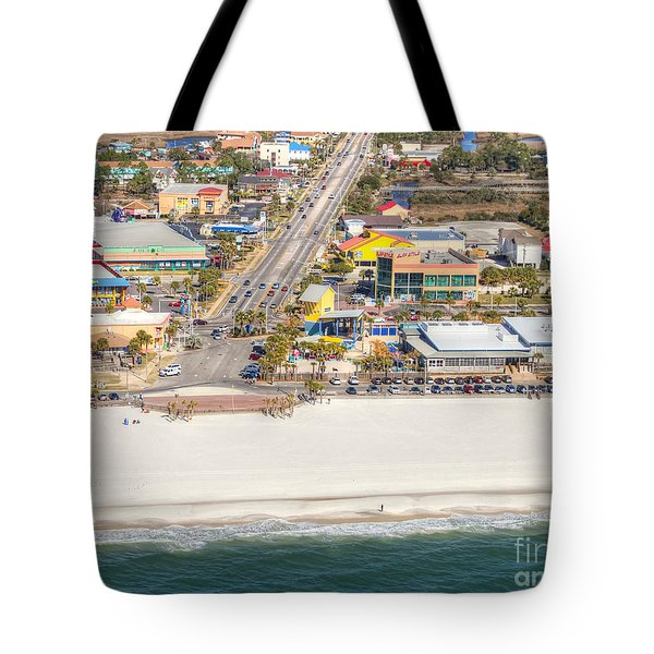 Tote Bag featuring the photograph Gulf Shores - Hwy 59 by Gulf Coast Aerials -