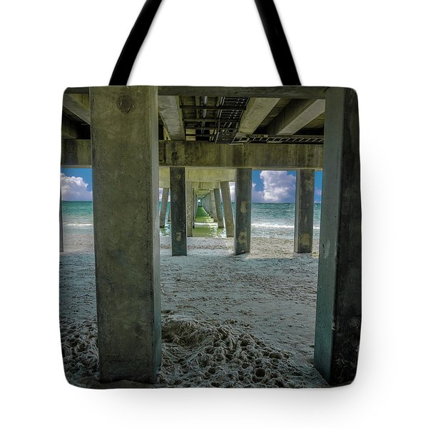 Gulf Shores Park And Pier Al 1649 Tote Bag