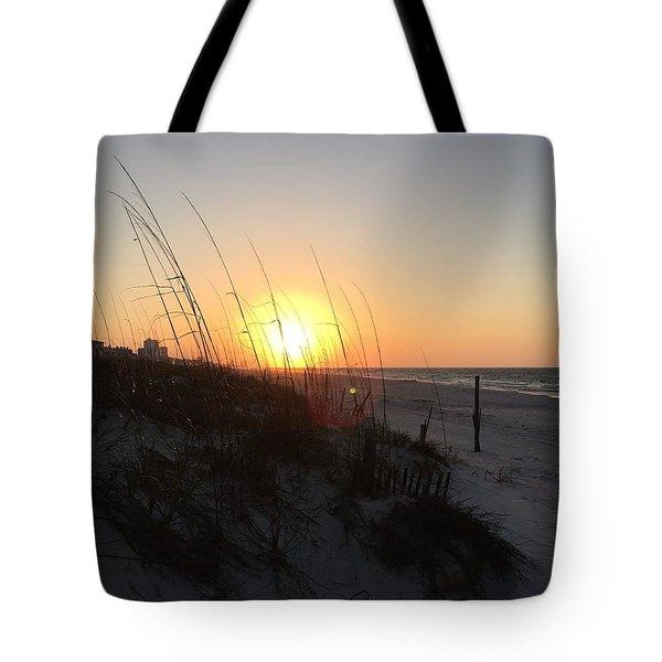 Gulf Shores Sunrise  Tote Bag