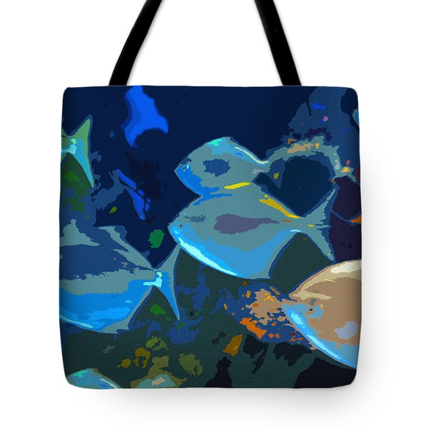 Gulf Stream Tote Bag by David Lee Thompson