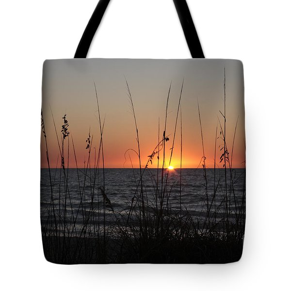Gulf Sunset In Florida Tote Bag