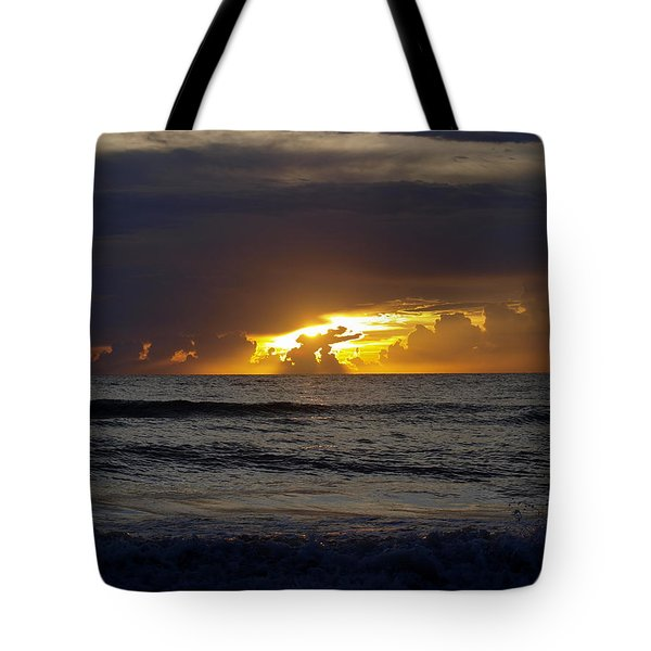 Gulf Sunset Tote Bag