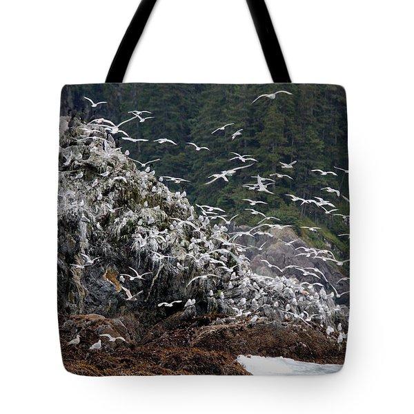 Gull Island Tote Bag