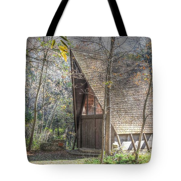 Gull Point Chapel Tote Bag