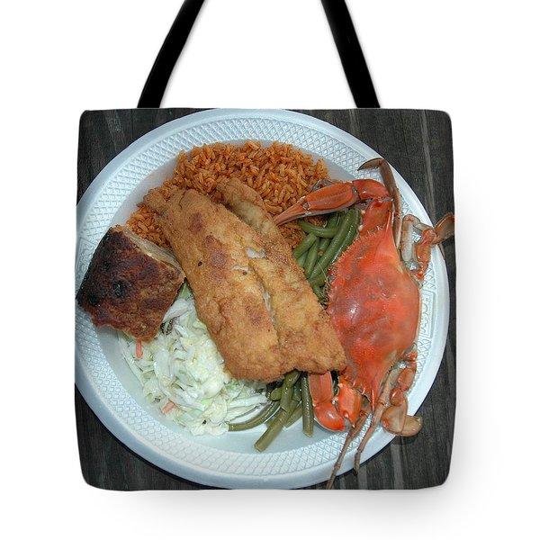 Gullah Plate Tote Bag