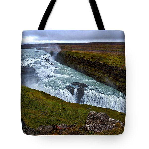 Gullfoss Waterfall #2 - Iceland Tote Bag