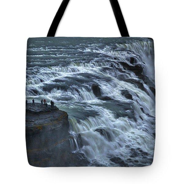 Gullfoss Waterfall #6 - Iceland Tote Bag
