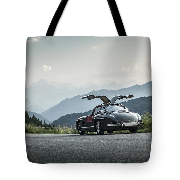 Gullwing In The Mountains Tote Bag