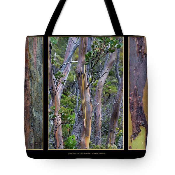 Gum Trees At Lake St Clair Tote Bag by Werner Padarin