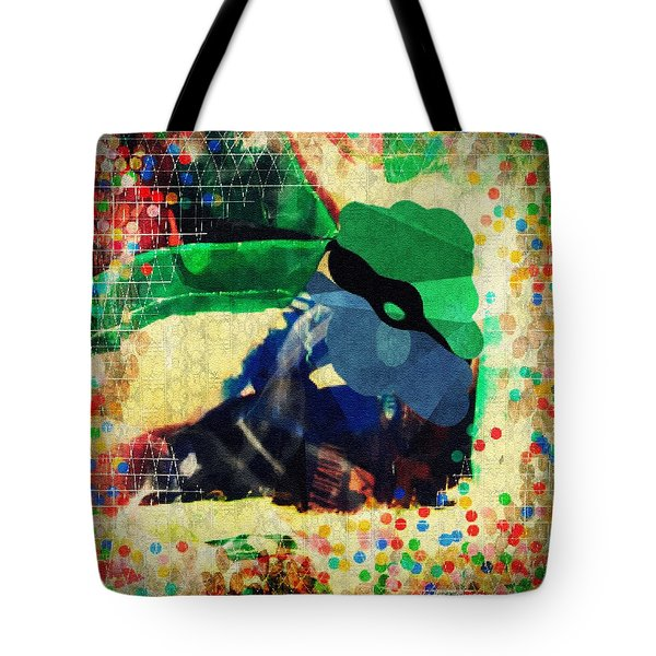 Gumballs And Races Tote Bag