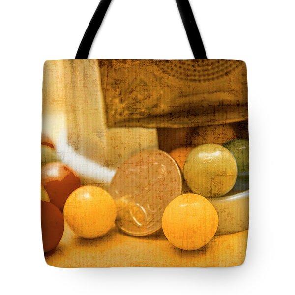 Gumballs Dispenser Antiques Tote Bag