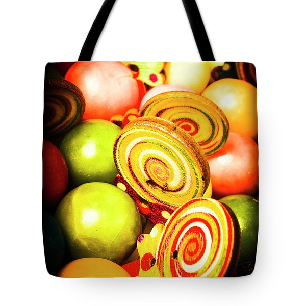 Gumdrops And Candy Pops  Tote Bag