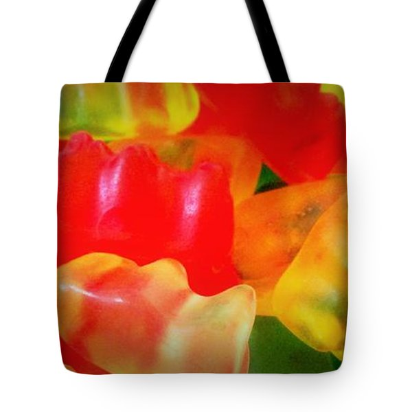 Gummies Tote Bag by Martin Cline