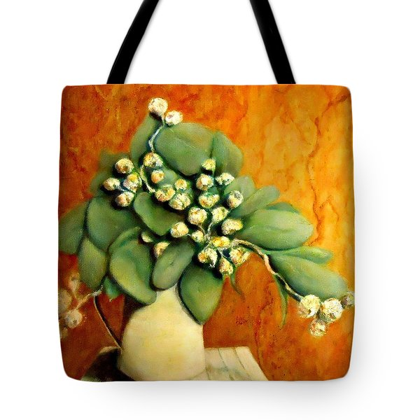 Gumnuts Still Life Tote Bag