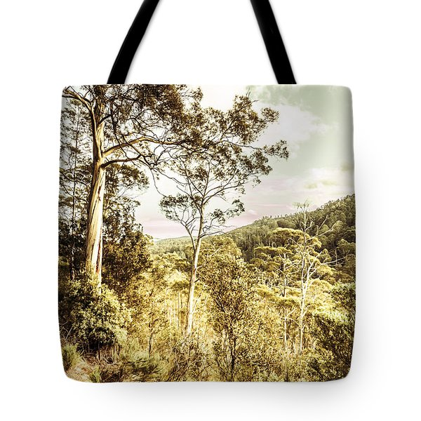 Tote Bag featuring the photograph Gumtree Bushland by Jorgo Photography - Wall Art Gallery