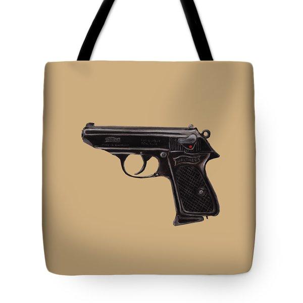 Gun - Pistol - Walther Ppk Tote Bag