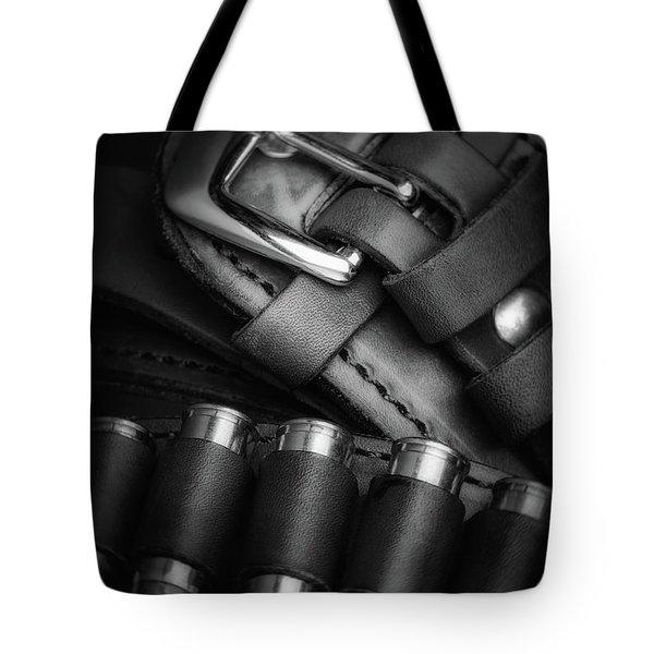 Tote Bag featuring the photograph Gunbelt by Tom Mc Nemar