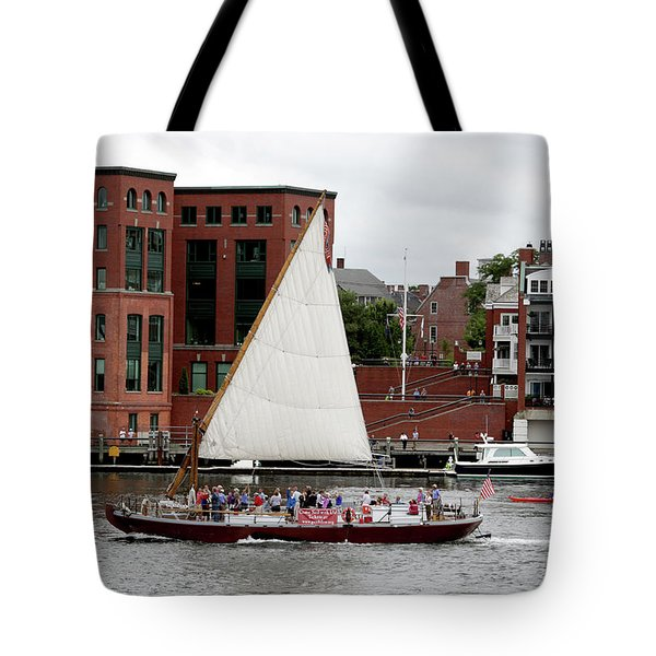 Gundalow Tote Bag