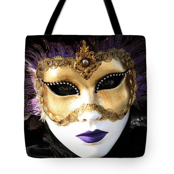 Gunilla Maria's Purple Feathers Tote Bag