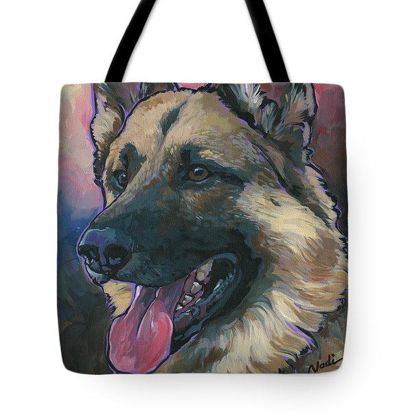 Gunner Tote Bag by Nadi Spencer