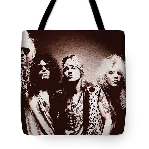 Guns N' Roses - Band Portrait 02 Tote Bag
