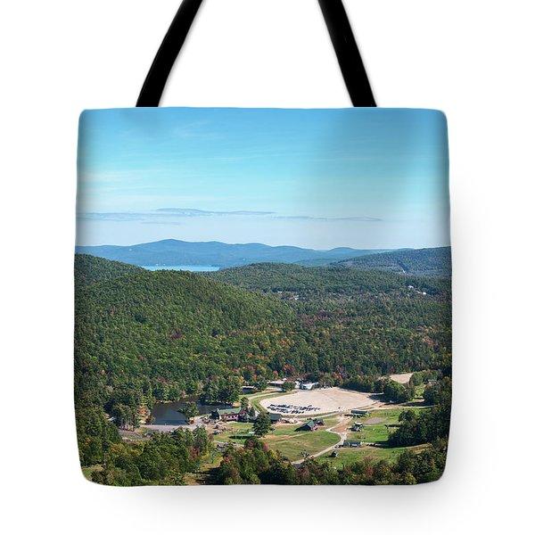 Tote Bag featuring the photograph Gunstock Mountain Resort by Sharon Seaward