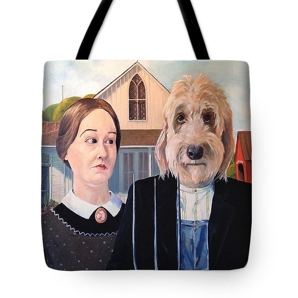 Gunther Goes Goth Tote Bag by Diane Daigle