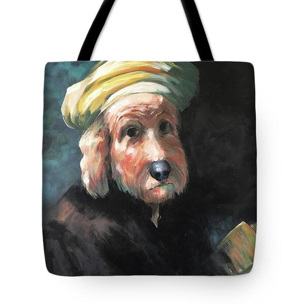 Gunther's Self Portrait Tote Bag by Diane Daigle