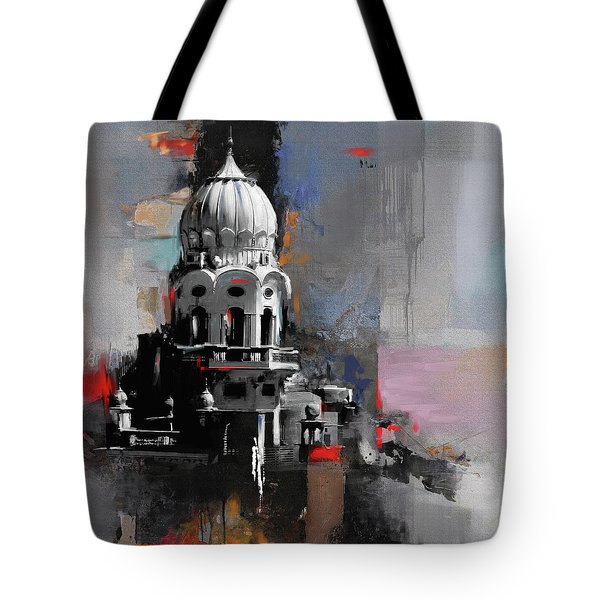Gurdwara 190 1 Tote Bag