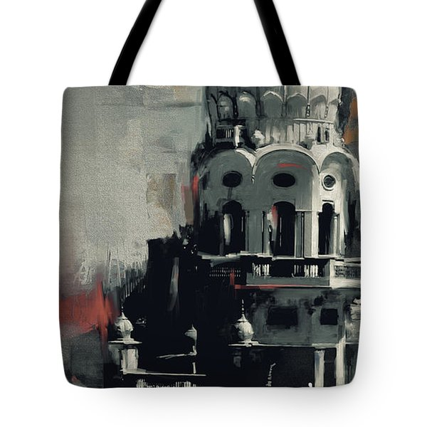 Gurdwara 190 Iv Tote Bag