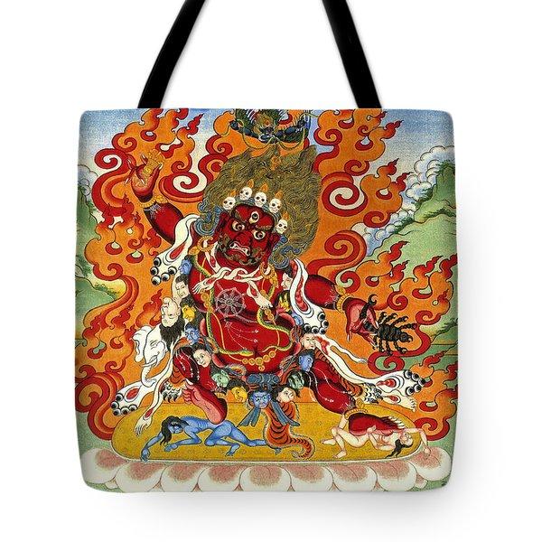 Guru Dragpo Tote Bag