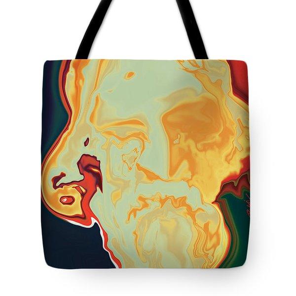 Gurudev Tote Bag by Rabi Khan