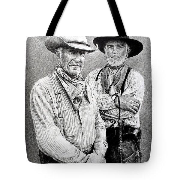 Gus And Woodrow Tote Bag