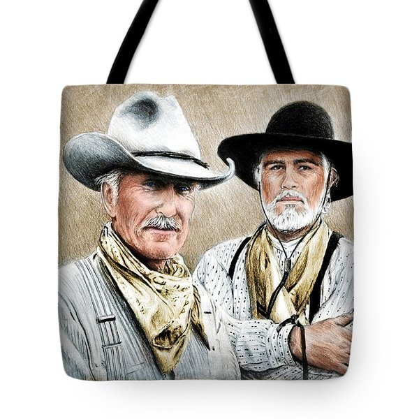 Gus And Woodrow Colour Ver Tote Bag