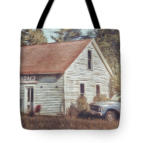 Gus Klenke Garage Tote Bag