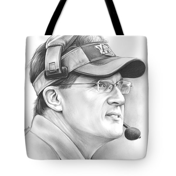 Gus Malzahn Tote Bag