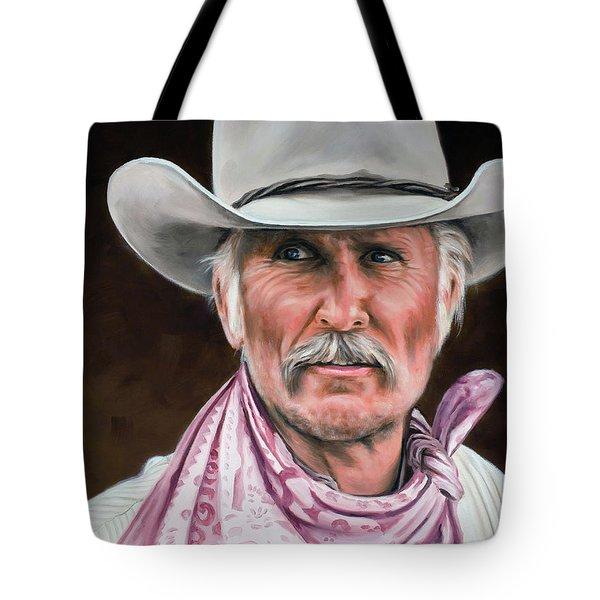 Gus Mccrae Texas Ranger Tote Bag
