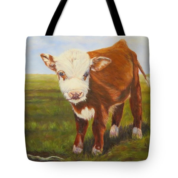 Gus, Cow Tote Bag