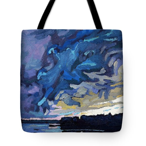 Gust Front Tote Bag