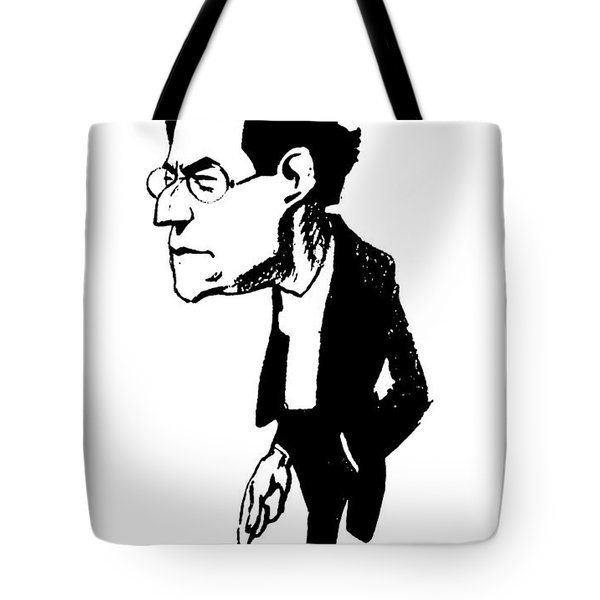 Gustav Mahler (1860-1911) Tote Bag by Granger