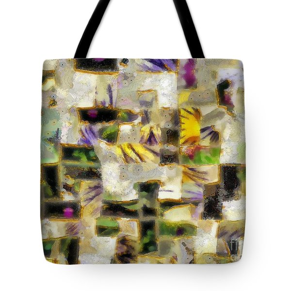 Gustav's Quilt Tote Bag by RC DeWinter