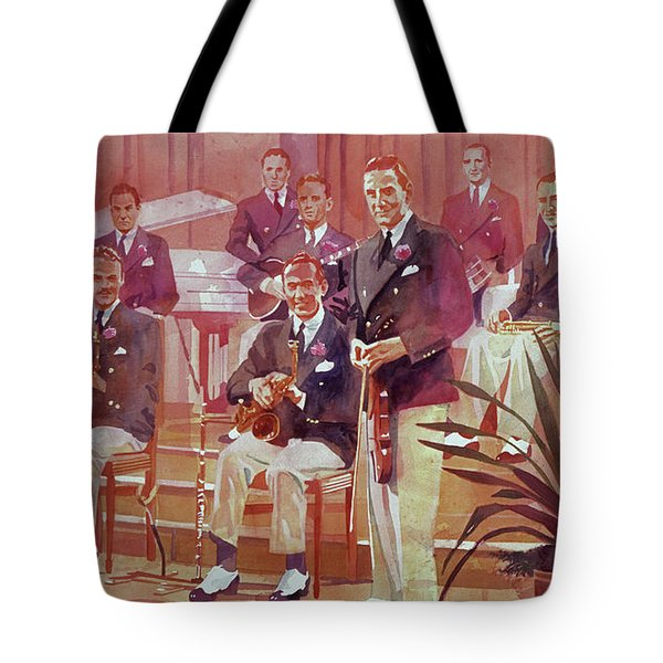 Guy Lombardo The Royal Canadians Tote Bag
