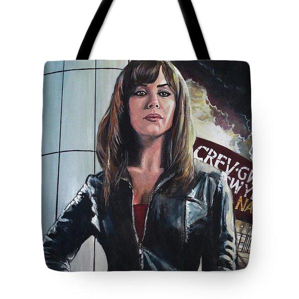 Gwen Cooper Tote Bag by Tom Carlton