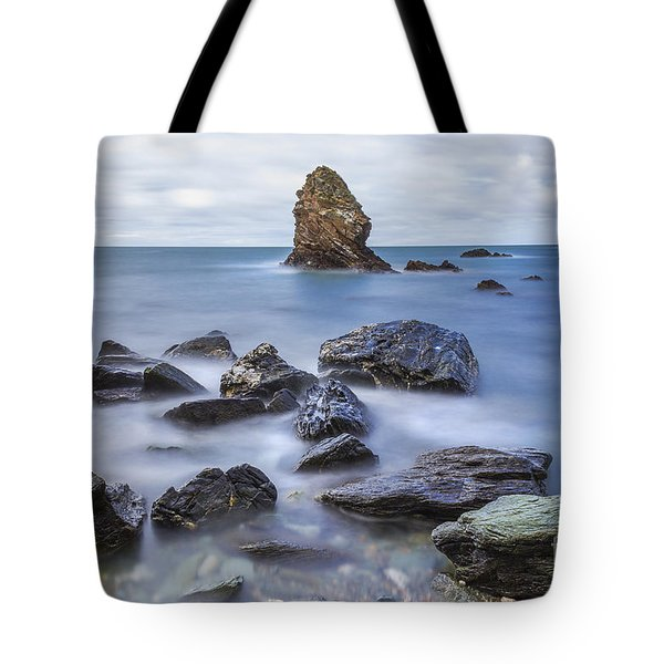 Gwenfaens Pillar Tote Bag by Ian Mitchell