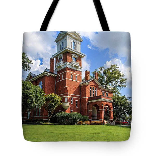 Gwinnett County Historic Courthouse Tote Bag
