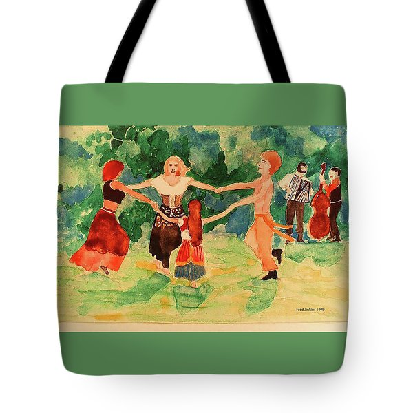 Gypsies Dancing Tote Bag