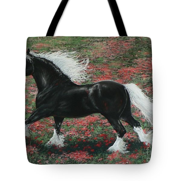 Gypsy Fire Tote Bag by Louise Green