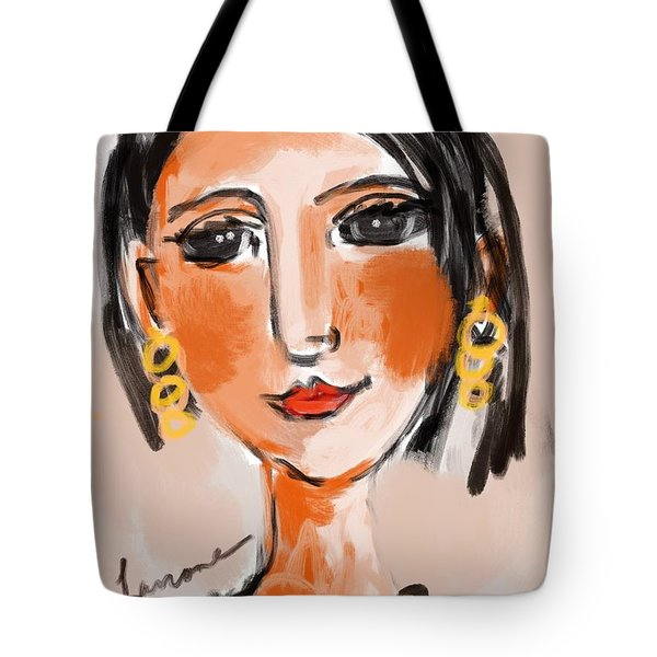 Gypsy Lady Tote Bag by Elaine Lanoue