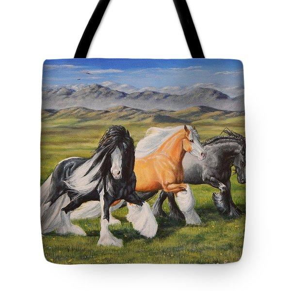 Gypsy Medley Tote Bag