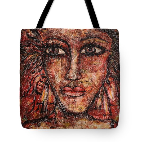 Gypsy Tote Bag by Natalie Holland